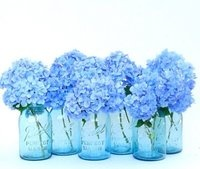 reusable glass with flowers