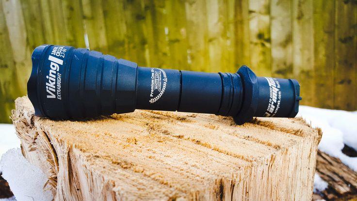 ArmyTek Viking V3 XP-L Flashlight. Get it now on http://Shop.ManCamping.ca