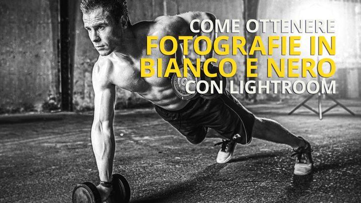 Come ottenere #fotografie in bianco e nero con #Lightroom - #biancoenero #blackandwhite #filtro #presetlightroom #freedownload
