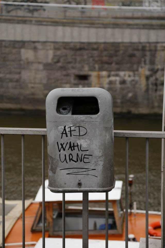 afd wahl urne