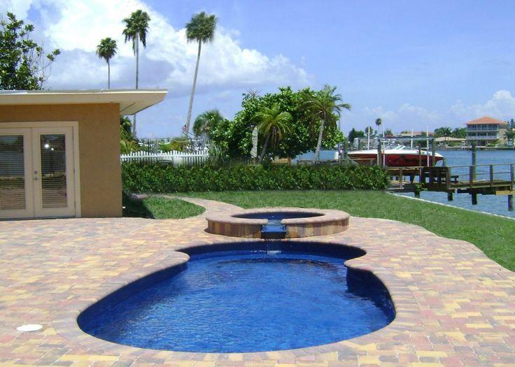 32 Best Images About Blue Hawaiian Fiberglass Pools On Pinterest