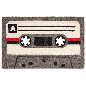 Cassette Doormat: Cassette Tape Doors Mats, Front Doors, Cassette Doors Floors, Floors Mats, Doormats Geekalert Com, Memories, Xmas Gifts, Ecd4 Cassette Doormats, Tape Doormats