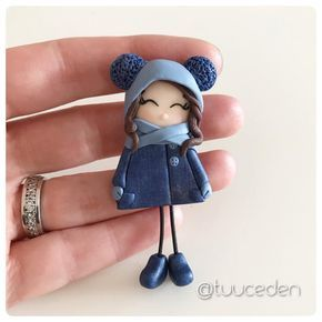 Polymer clay girl
