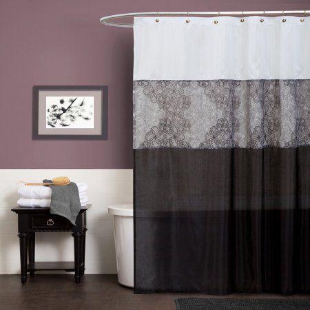 Anita Gray Shower Curtain
