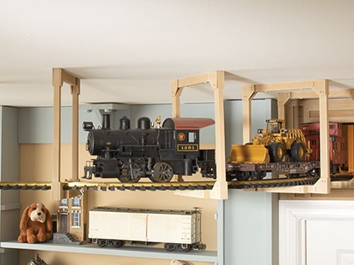 Little Boy Toddler Boy Room Ideas With Building Train Themes