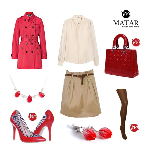 Elegant spring outfit by Matar.ro
