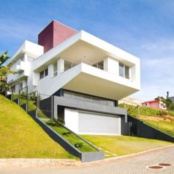 Diverse Modern Architecture Originally Adapted to a Steep Site #dwellinggawker