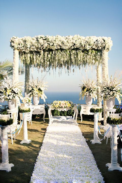 A Top Wedding Décor Pick by Barbados Weddings... beyond your imagination!!