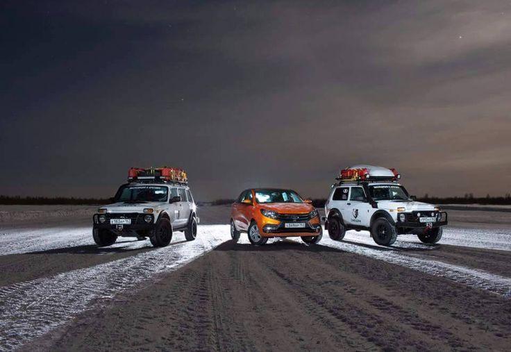 """""""GRAUÇÁ 4x4"""" - Lada Niva: Expedição Ártico 2016 - 50º Aniversário da AvtoVAZ (post 1100)"""