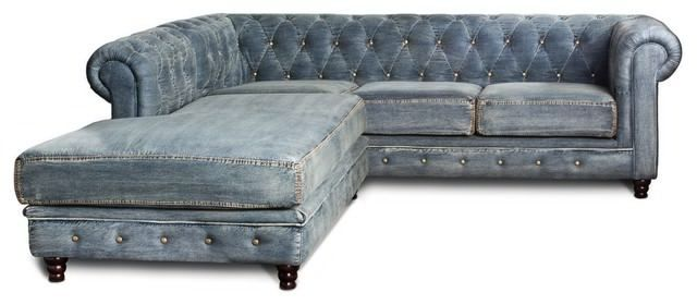 Architecture Sectional Sofa Design Denim Chaise Hide A Bed Intended ...
