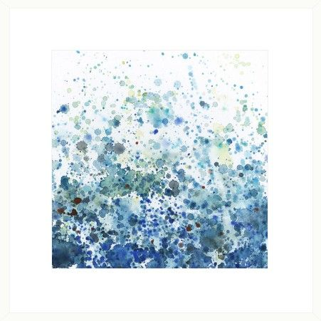 Speckled Sea Wall Art - Sea Change - Temple & Webster presents.