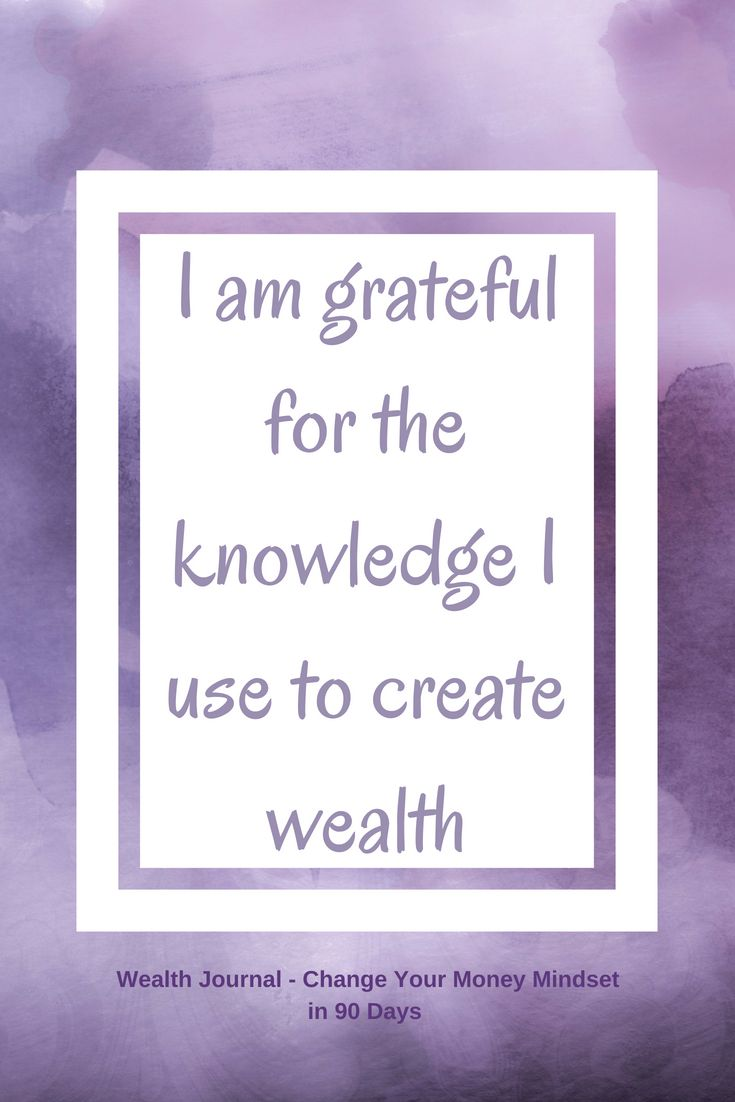 #3 Wealth affirmation to help you change your mone…