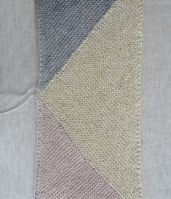 Whit's Knits: Just Triangles Entrelac Scarf - The Purl Bee - Knitting Crochet Sewing Embroidery Crafts Patterns and Ideas!