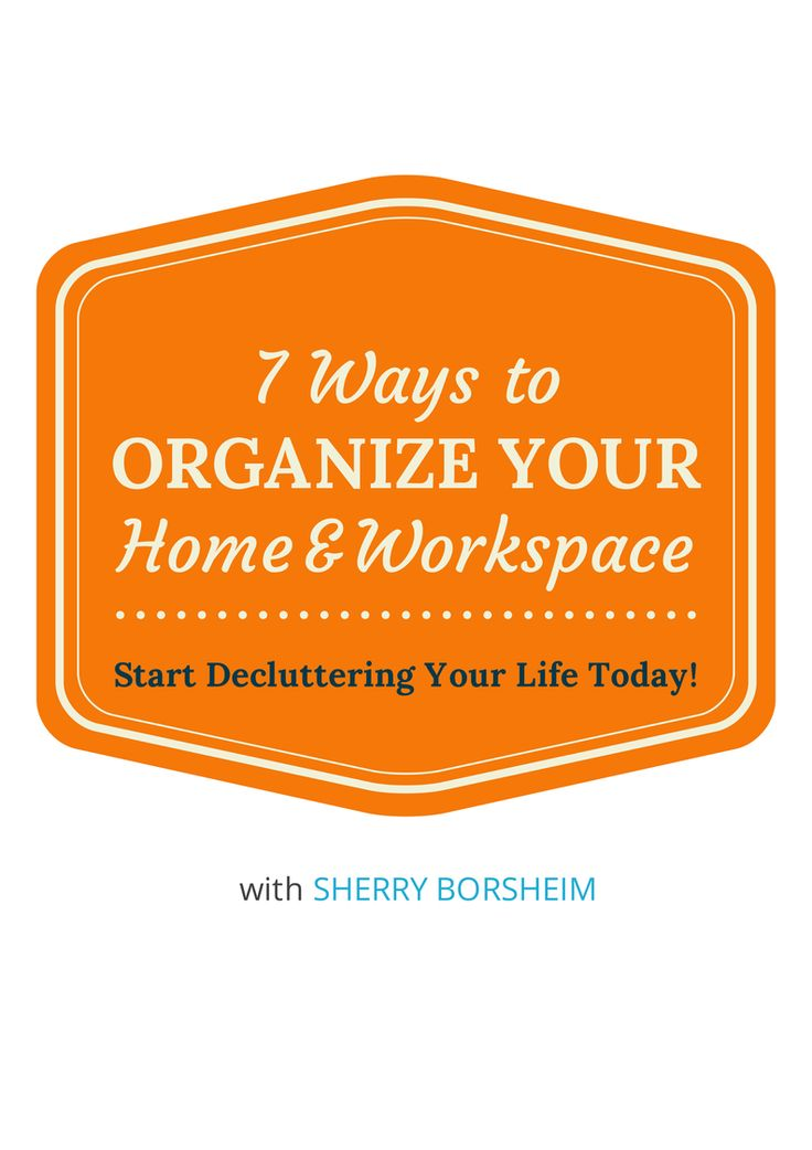 Click here to learn what systems you must have to declutter for home organization, office organization and your sanity: http://www.simplyproductive.com/organize/