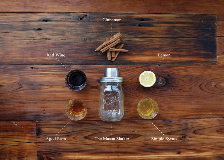 Red Rum Cocktail recipe via the UO Blog