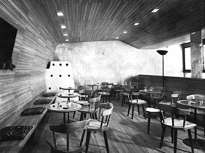 Edoardo Gellner Interno del bar La Genzianella a Cortina, 1947-48 Foto: archivio StudioGellner