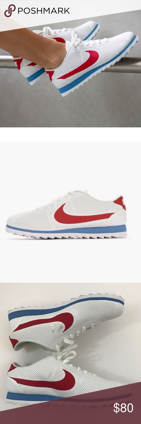 Nike W Cortez Ultra Moire Summit White US 10 Nike W Cortez Ultra Moire 844893-106 Summit White/Varsity US 10  Women's Shoes Nike Shoes Sneakers