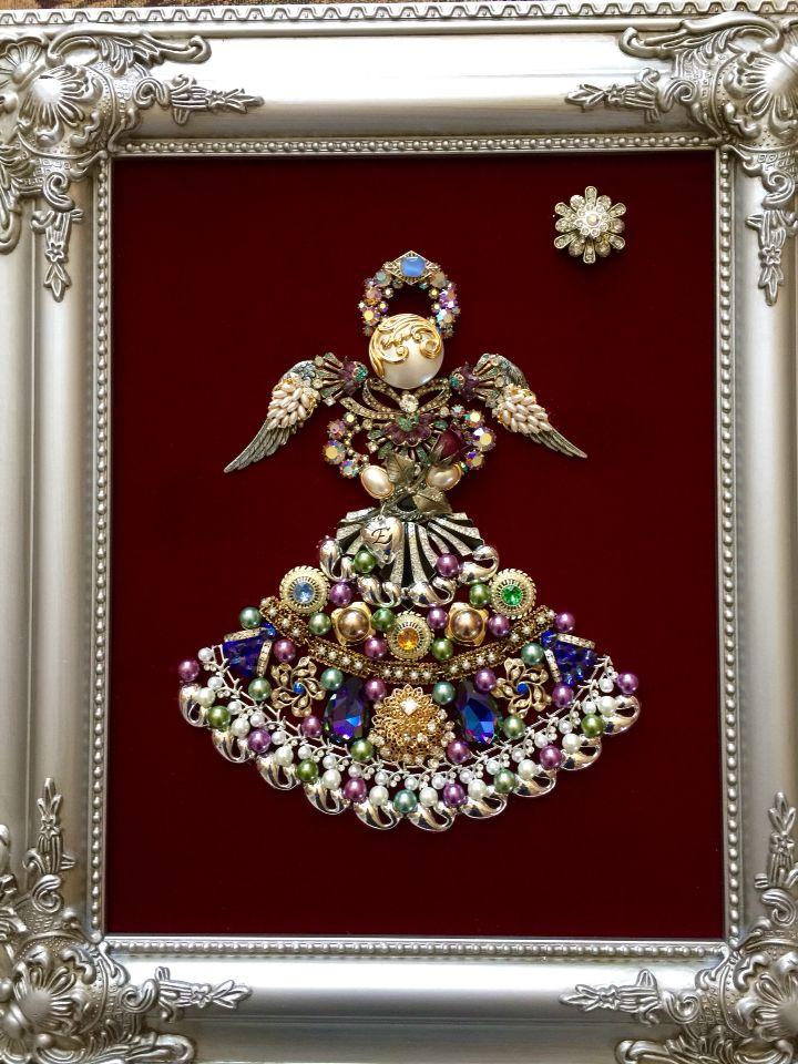 best 25 vintage jewelry crafts ideas on pinterest On christmas jewelry craft ideas