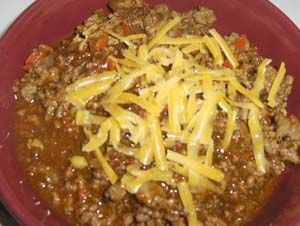 Gluten Free Chili Without Tomatoes and Beans