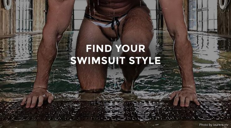 A #woofd men's swimwear guide that will help you find the perfect suit for your day in the sun.  woofd.com/fashion/swimsuit-styles.html