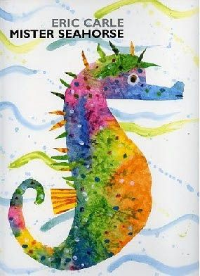 Really any Eric Carle book is a must-have for elementary educators or art educators, but I particularly like the underwater creatures that Carle created in his book 'Mr. Seahorse'.