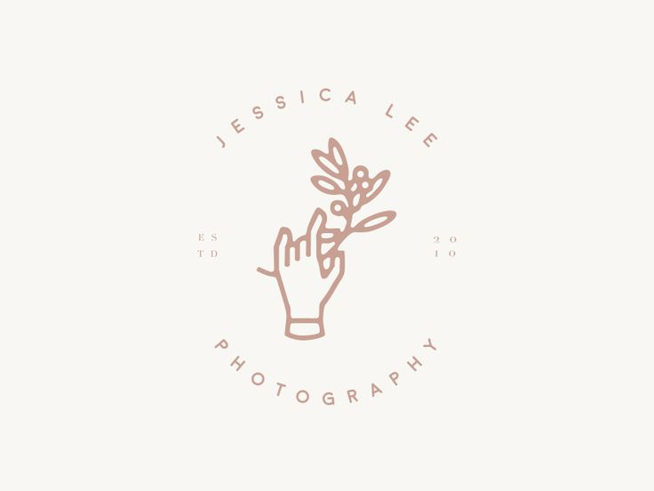 Jessica Lee Photography:   Logo created for Jessica Lee Photography but not chosen as the final!