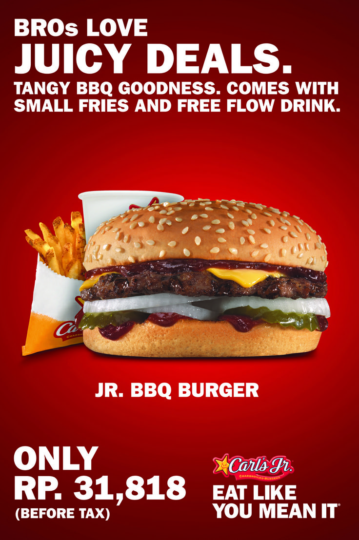 Juicy deals for BBQ Burger.