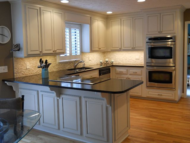 How To Refinish Kitchen Cabinets  Rustic Hickory Kitchen Cabinets Design  IdeasBest 25  Refinish kitchen cabinets ideas only on Pinterest  . Refinish Kitchen Cabinets. Home Design Ideas