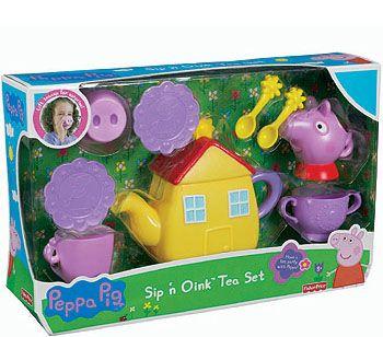 "Fisher-Price Peppa Pig Sip 'n Oink Tea Set - Fisher-Price - Toys ""R"" Us"