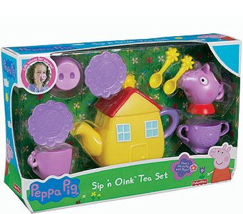 "Fisher-Price Peppa Pig Sip 'n Oink Tea Set - Fisher-Price - Toys ""R"" Us"