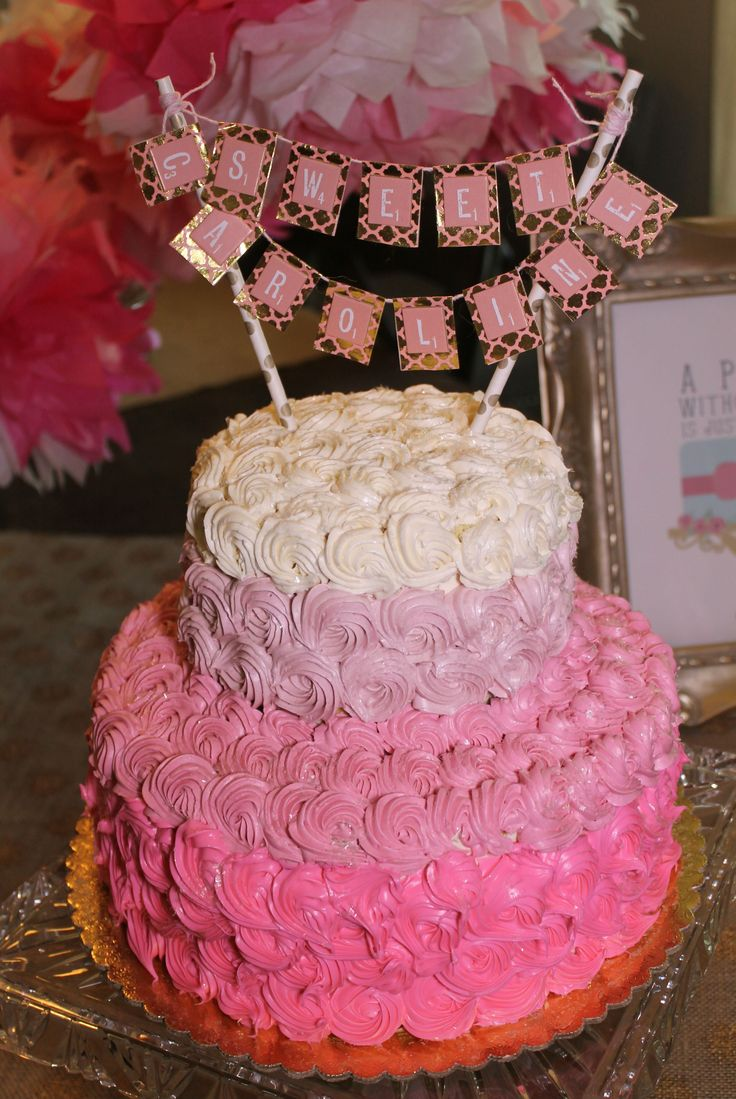 Events- Pink & Gold First Birthday
