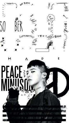 Cute Kpop Wallpaper G Dragon Iphone6 Home Screen Bigbang Pinterest