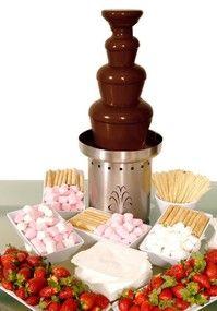 fuente de chocolate en queretaro