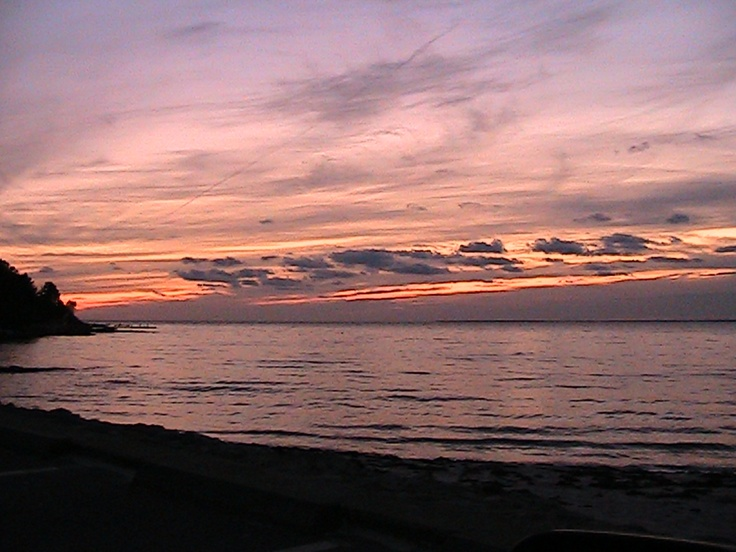 Sunset at Old Silver Beach, Falmouth, MA