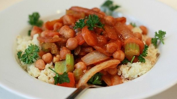 Hearty Moroccan Chickpea Salad