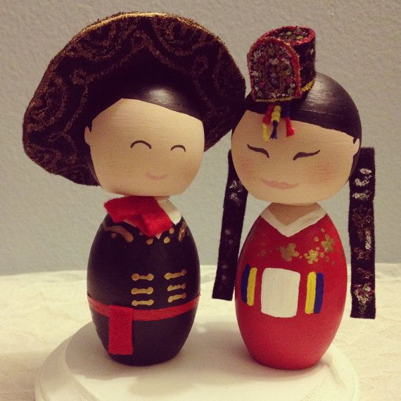 lol this pretty much sums up my roots Custom Traditional Korean Bride and Mexican Groom by DSMeeBee, $90.00