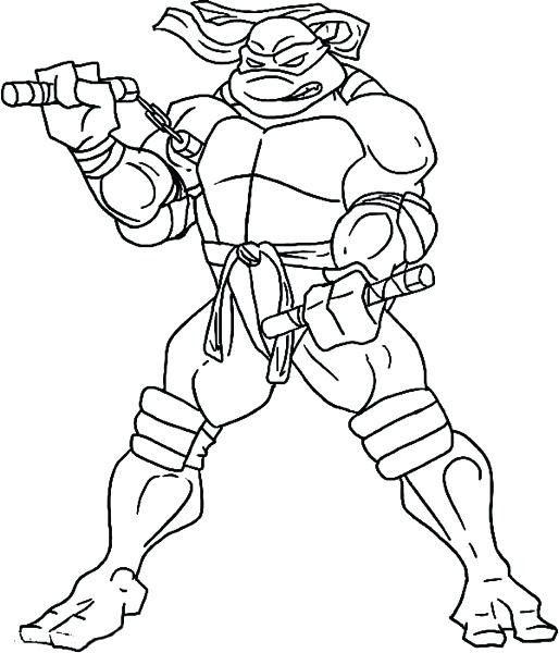 Disegno Di Maschera Tartarughe Ninja Da Colorare Acolore Com