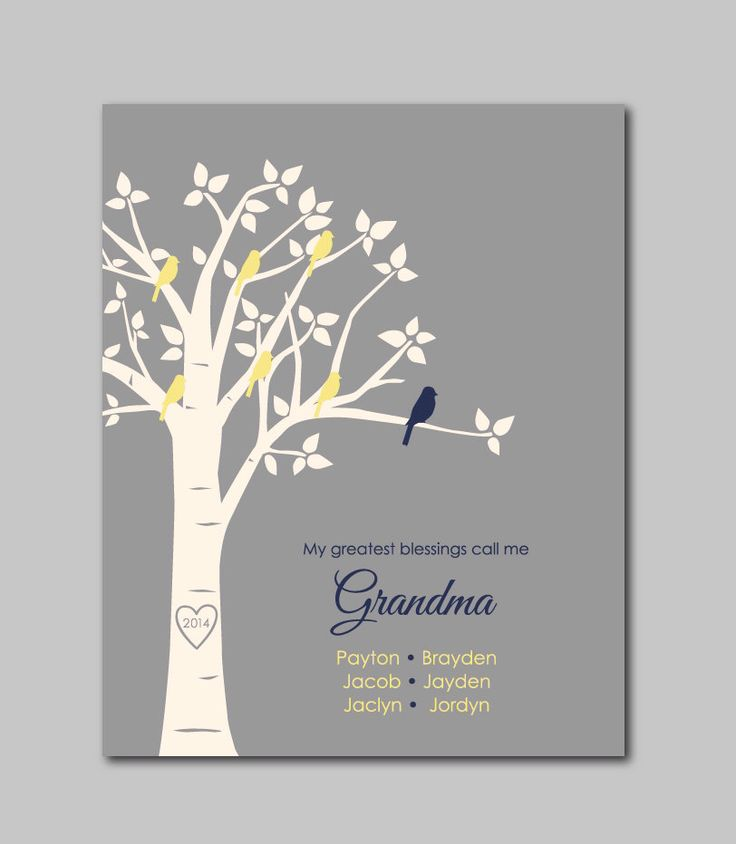 My greatest blessings call me grandma mother 39 s day gift for Birthday gifts for grandma from granddaughter