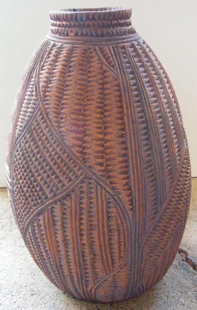 Stevei Houkamau Kahurangi Clay Carving maori art kura gallery auckland wellington new Zealand1