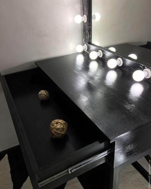 Мебель ручной работы. Стол URBAN. 24_7MAGAZIN. Ярмарка Мастеров. Стол визажиста, набор визажиста, стиль лофт