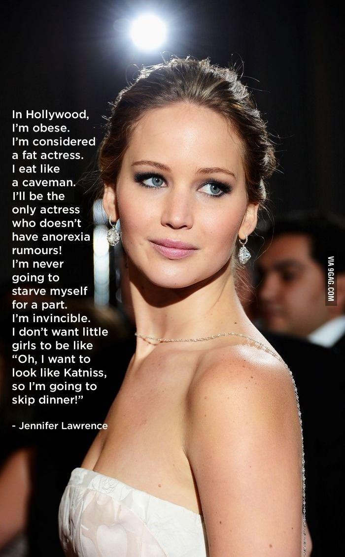 Good for Jennifer Lawerence!