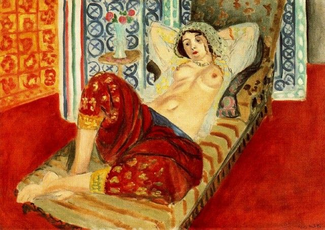 Henri Matisse - Odalisque with Red Trousers