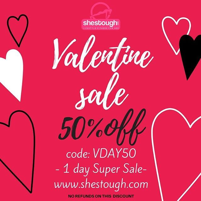 Valentine's Day Sale ----50% OFF---- Code: VDAY50 #valentinesday