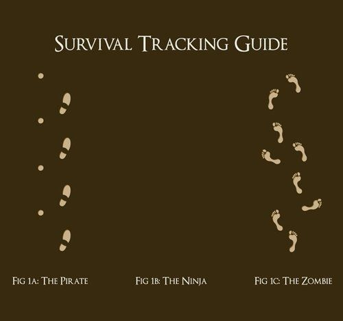 Survival Tracking Guide: Pirates, Ninjas & Zombies