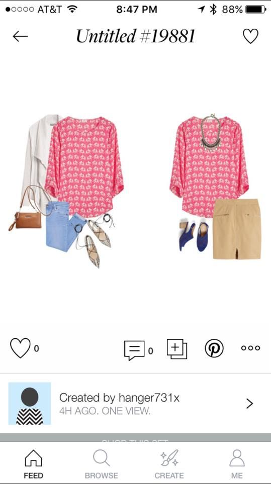 Pixley Ellie 3/4 Sleeve Printed Blouse . I'd love to have this as I wear the…
