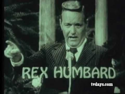 REX HUMBARD 1973 TV MINISTER CLASSIC TV SHOWS COMMERCIALS on DVDS at TVDAYS.com - YouTube