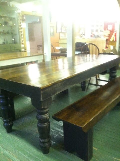 Farm Tables At The Amish Market