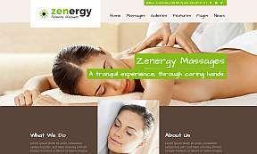 Zenergy Wordpress Theme