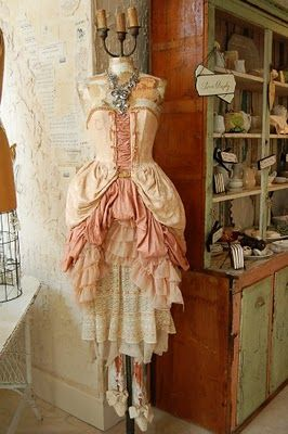 Vintage Dress: Style, Shabby Chic, Marie Antoinette, Dresses, Costume, Vintage Dress, Dressforms