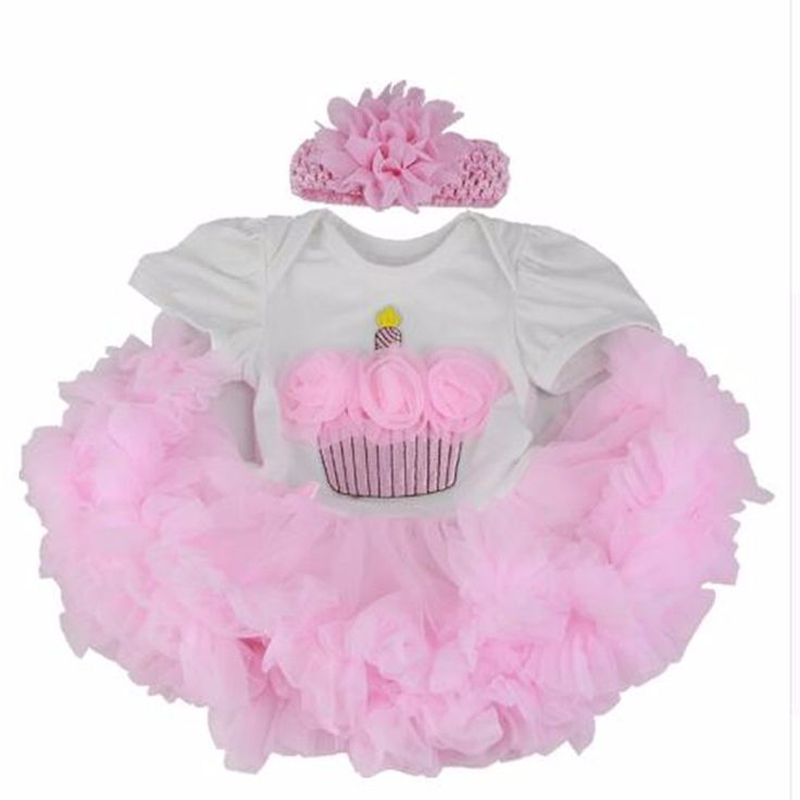 Wholesale Cheap Baby Doll Dress with Cake Pattern For 22-23 inch Reborn Baby Pink Bubble Skirt Doll
